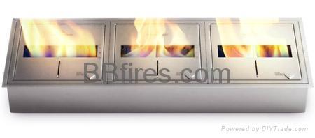 Three 5L manual burners