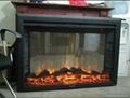 (现货)TH拉链网视窗观火景壁炉案例