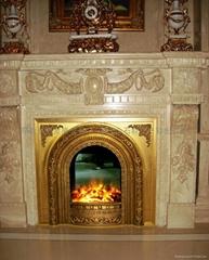 TH铸铜电壁炉壁炉