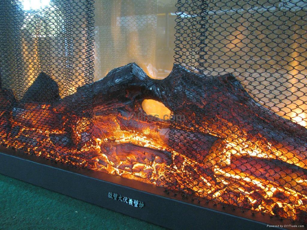 现货TH拉链网视窗观火壁炉 8