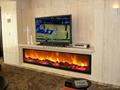 另一个在电视机下的壁炉案例