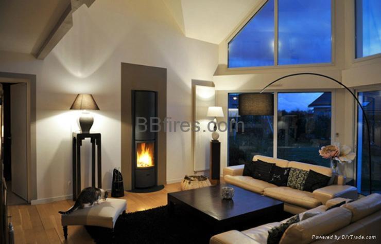 Intelligent low heat Bio Ethanol fireplace  4