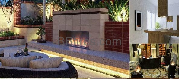 BB bio-ethanol imtelligent fireplaces in Star Hotel