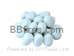 White pebble 24pcs