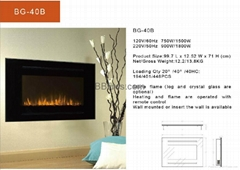 BG2 Series Wall Mounted fireplace