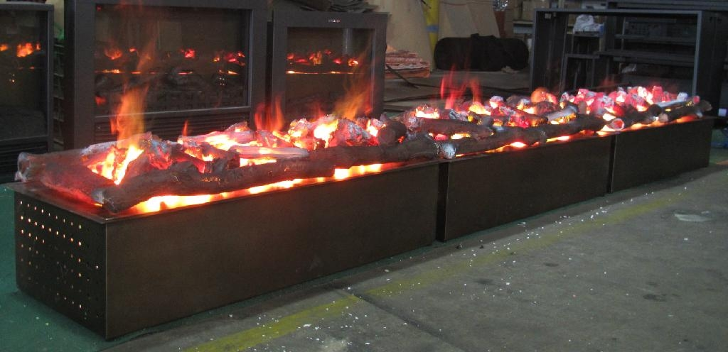3 D electric Fireplace