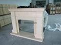 (現貨)白色木壁爐組合 14