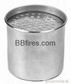 Round Bio manual burner