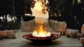 星级酒店真火的壁炉案例