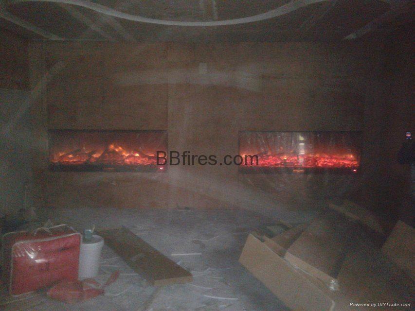 新鸿基K31-40F SKY 会所壁炉-案例 11
