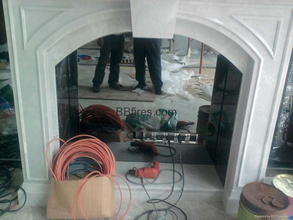 Guangdong Golf and Country Club fireplace Job