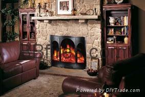 案例-酒店壁炉
