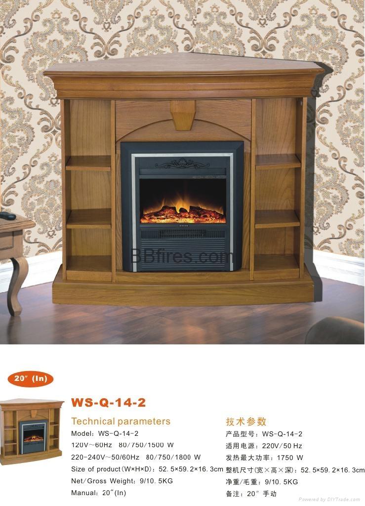酒店电子壁炉 WS-Q142