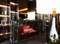 3D壁炉 上海徐泾新茂展销厅火炉案例