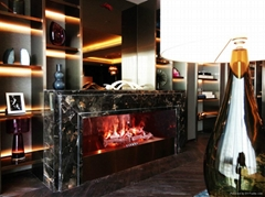 Three dimension 3D fireplace flame Job Ref.