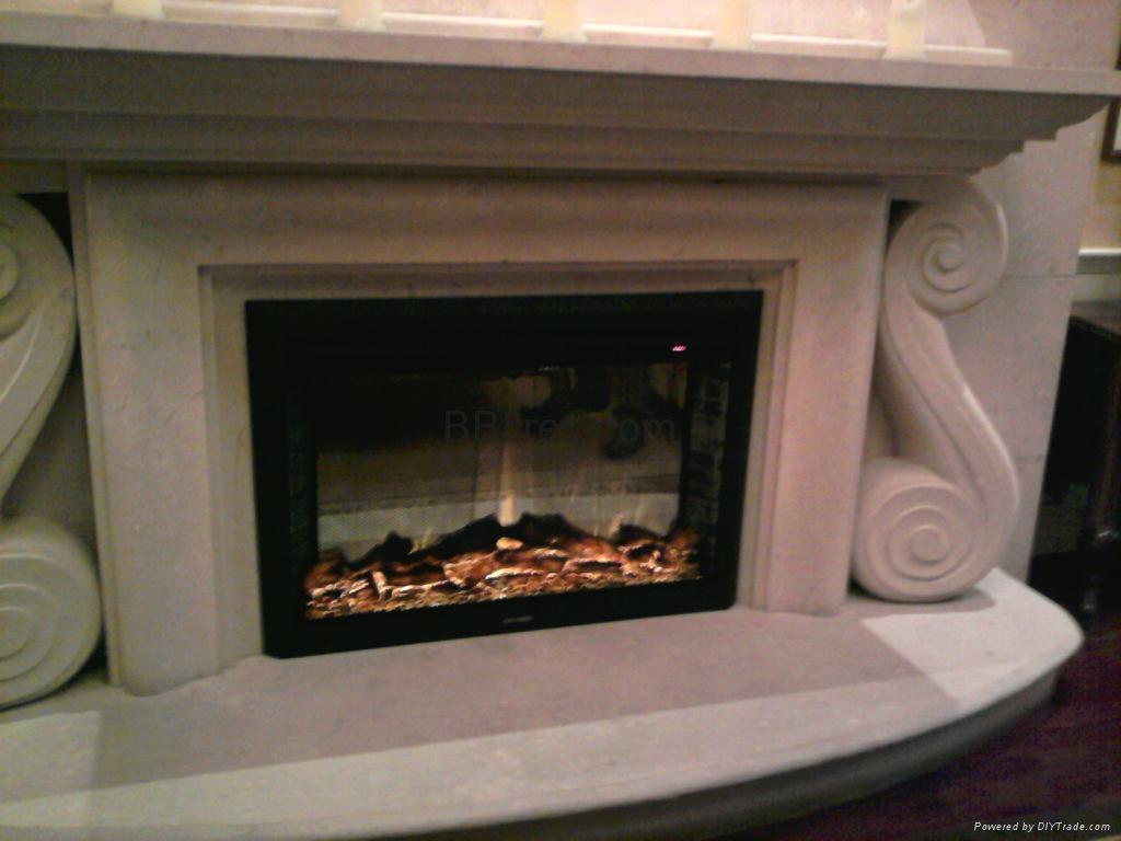 TH拉链网视窗观火景壁炉案例