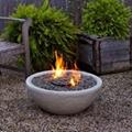 户外低温酒精壁炉及火盆案例