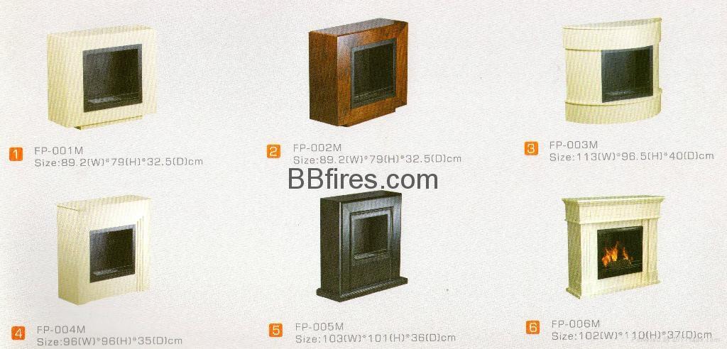 木材現貨酒精壁爐系列
