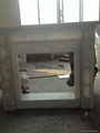 Marble Fireplace sets combination Stock