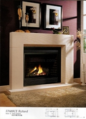 High class Marble fireplace Mantels