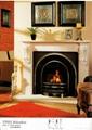 MOCA CREMA & Marble Electric Fireplace