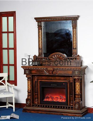 (现货)木壁炉及电火炉 8