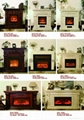 Stock Wooden Fireplace set