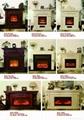 (现货)木质装饰壁炉+火炉