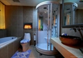 自订在浴室电子壁炉案例