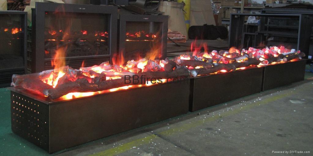3D壁炉案例