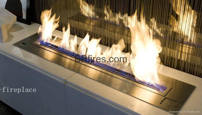 Intelligent Bio Ethanol fireplaces at BOC Bldg. 2