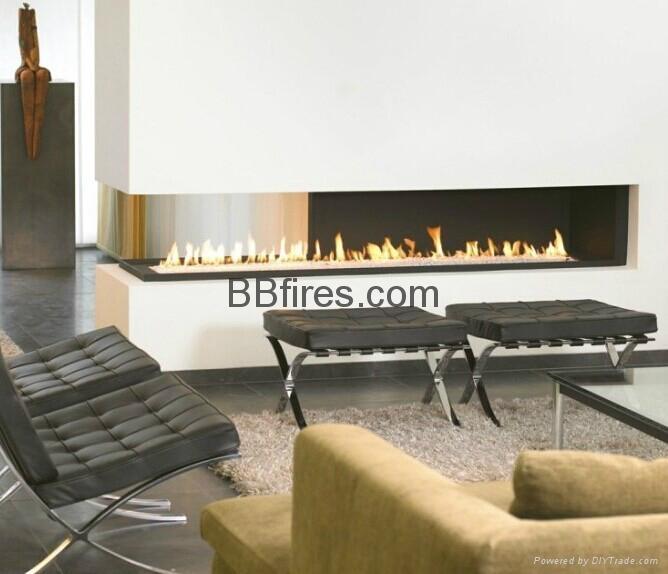 Intelligent Bio Ethanol fireplaces at BOC Bldg. 15