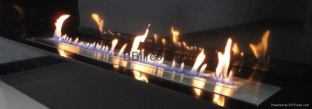 Intelligent Bio Ethanol fireplaces at BOC Bldg. 13