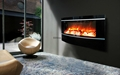Wall mounted fireplace Job