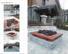 Hyatt Regency Changbaishan Outdoor intelligent bioethanol fire pot