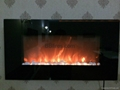 WS Wall Mounted and Inert 2 types fireplace Stock
