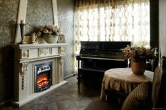 Cast iron fireplaces and cast iron stoves
