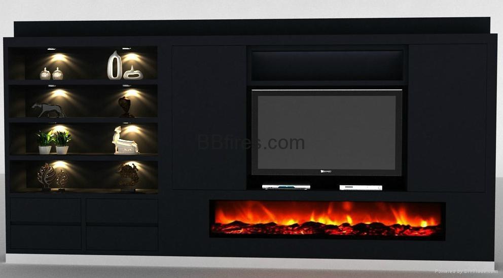 自定尺寸装饰壁炉(两米长或以上)