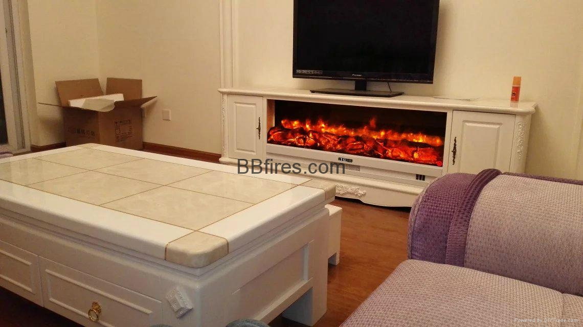 New televison cabinet fireplace set