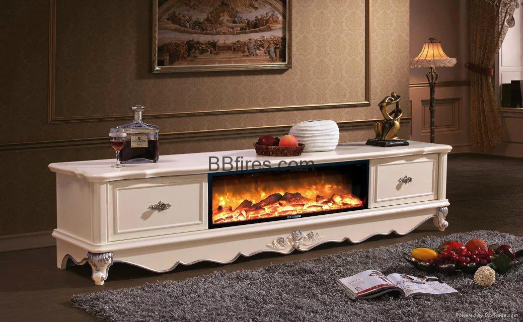 New televison cabinet fireplace set