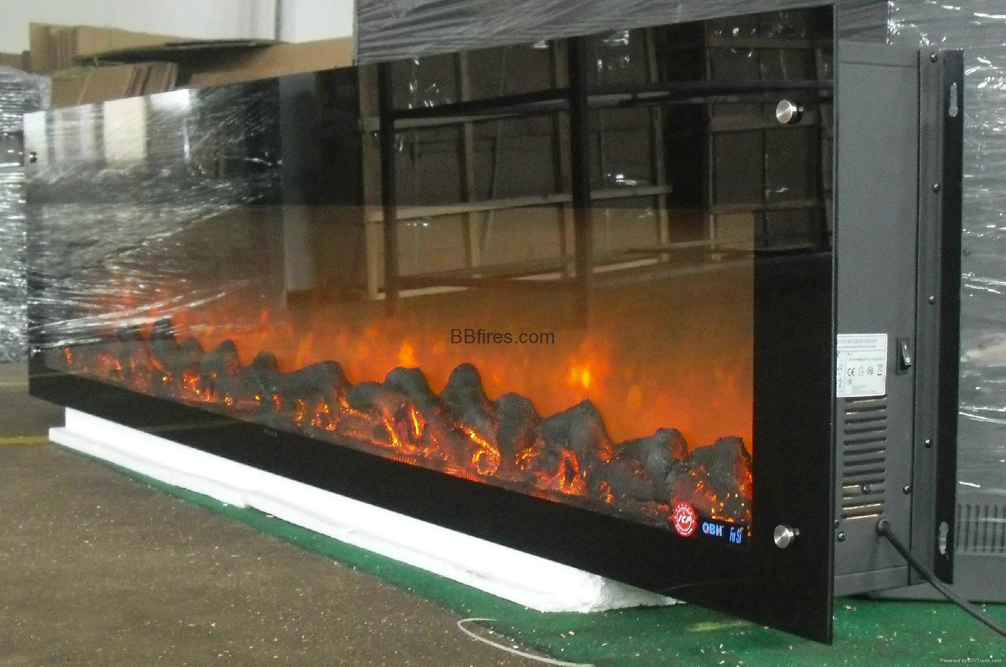 新鸿基K31-40F SKY 会所壁炉-案例