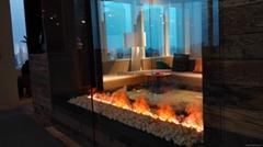 立體3D壁爐(誨沃氏上海傢具展廳案例)