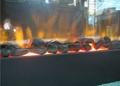 黑石头电子壁炉
