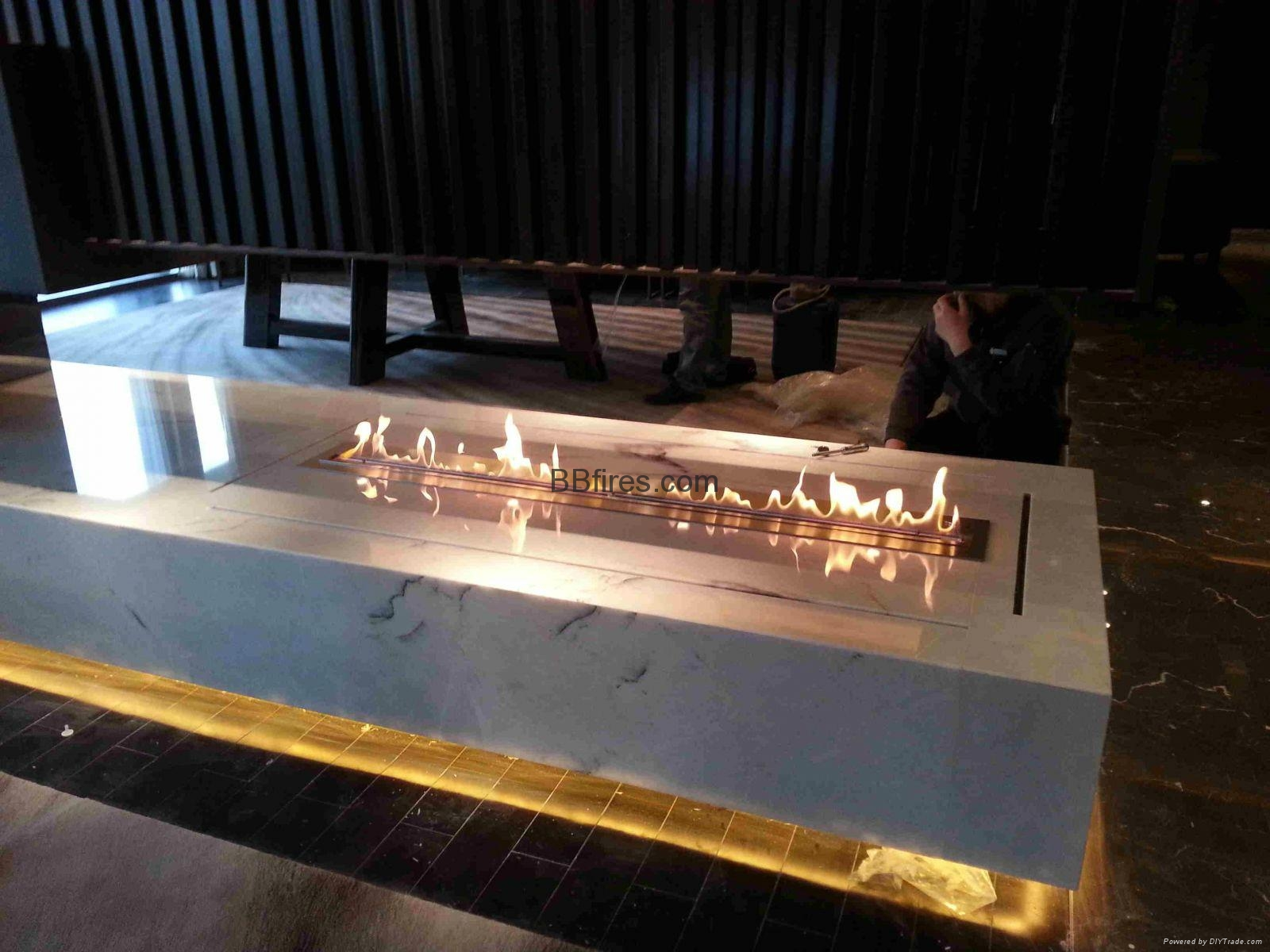 BB bio-ethanol imtelligent fireplaces in Four Season Hotel