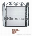Fireplace Accessories Metal fireplace 1