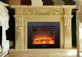 26Q3A经济型壁炉上出风,外710x590x155新款、手动或者遥控、无玻璃或者有玻璃