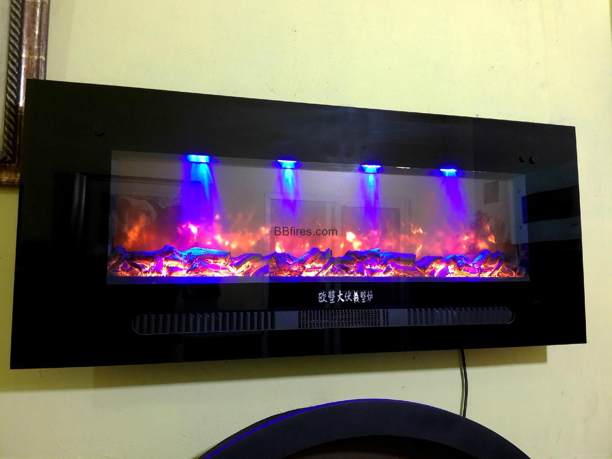 New Stock TH Wall mounted Fireplace Series 5