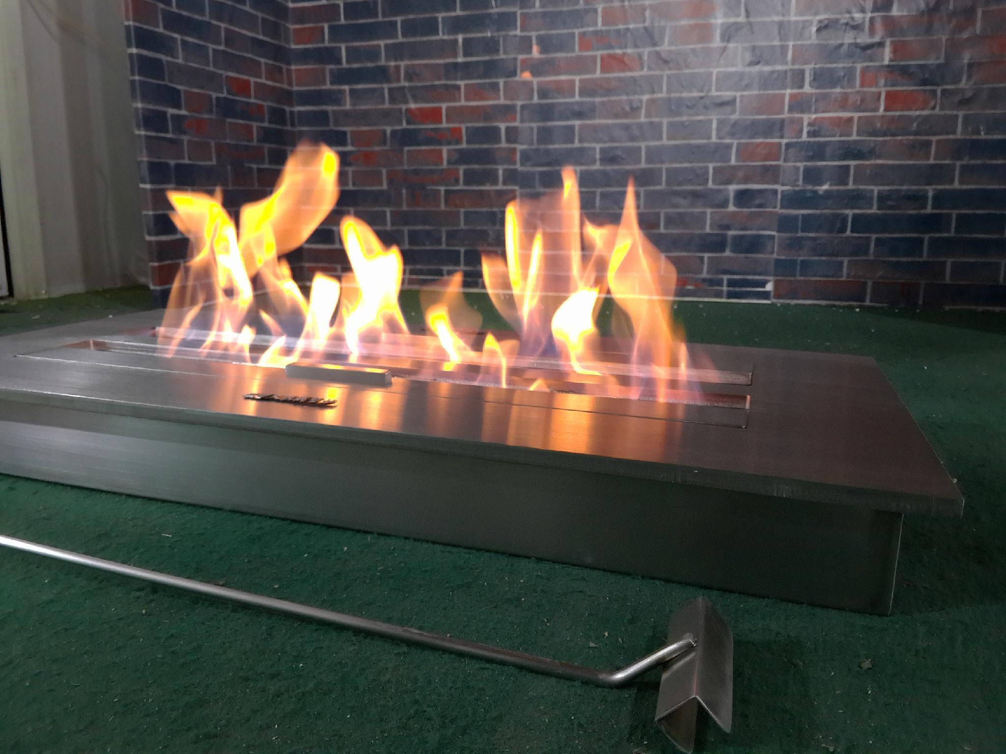 智能酒精壁炉燃烧盒 12