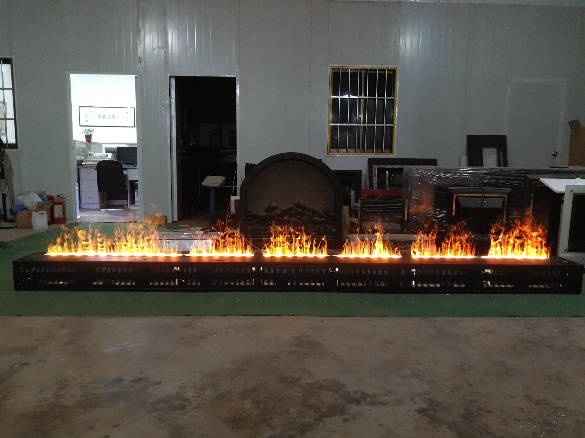wall products flames vapor blaze electric fireplace ambiance water built modern mounted in