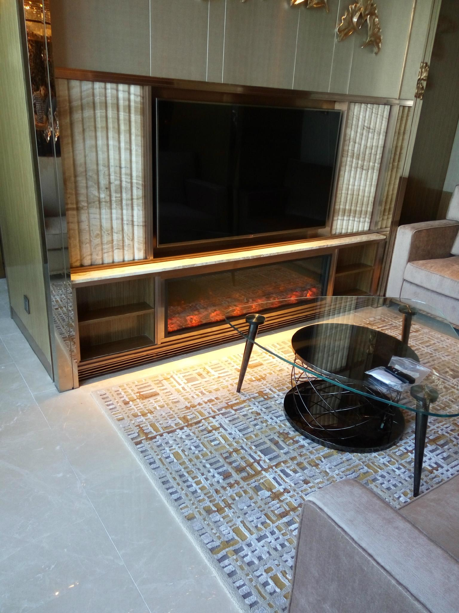 Any shape, dimension fireplace TH Series